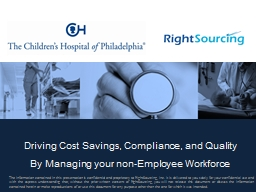 Driving Cost Savings, Compliance, and Quality
