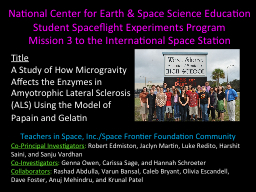 National Center for Earth & Space Science Education