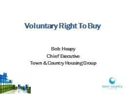 Voluntary Right To Buy