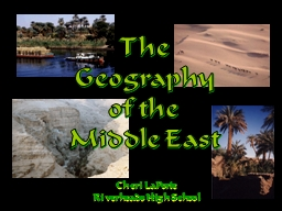 The Geography PowerPoint PPT Presentation
