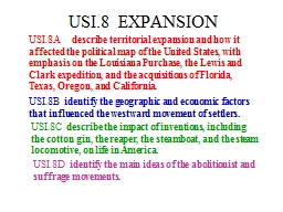 USI.8  EXPANSION