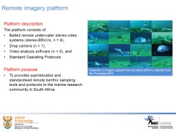 Stereo-BRUVs assessment of South Africa's MPAs