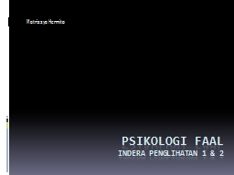 Psikologi faal PowerPoint Presentation, PPT - DocSlides