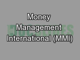 Money Management International (MMI)