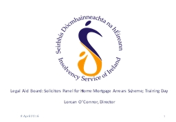 Legal Aid Board: Solicitors Panel for Home Mortgage Arrears