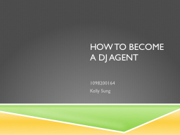 How to become a DJ agent