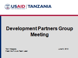 Development Partners Group PowerPoint PPT Presentation