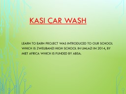 KASI CAR WASH
