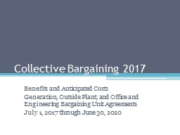 Collective Bargaining 2017