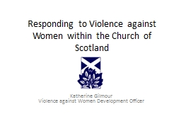 Responding to Violence against Women within the Church of S