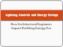How Architectural Engineers Impact Building Energy Use
