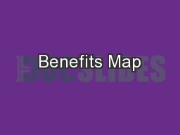 Benefits Map