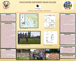 Food Scaping Northwest Indian College