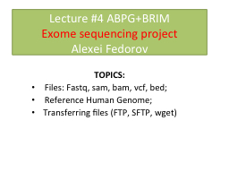 Lecture #4 ABPG+ PowerPoint PPT Presentation