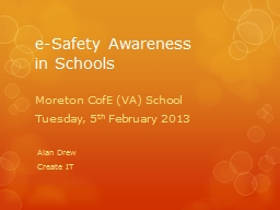 e -Safety Awareness