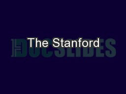 The Stanford