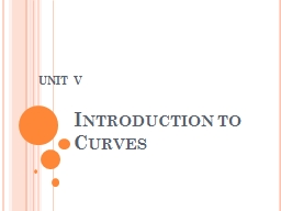 Introduction to Curves