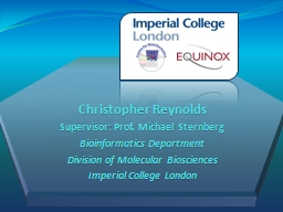 Christopher Reynolds PowerPoint PPT Presentation