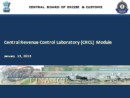 CENTRAL BOARD OF EXCISE & CUSTOMS