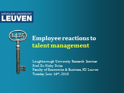 Employee reactions to