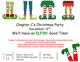 Chapter C's Christmas Party