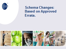 Schema Changes: Based on Approved Errata.