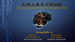 S.M.A.R.T.-CHAIR PowerPoint PPT Presentation