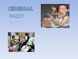 CEREBRAL PowerPoint PPT Presentation