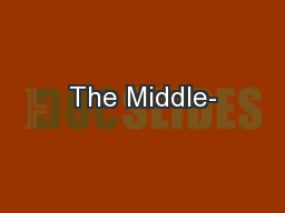 The Middle-