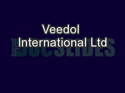 Veedol International Ltd