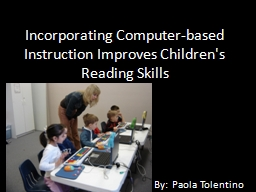 Incorporating Computer-based Instruction Improves