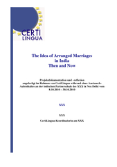 The Idea of Arranged Marriages in India Then and Now P