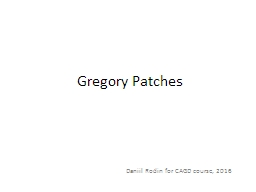 Gregory Patches