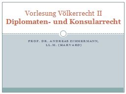 Prof. Dr. Andreas Zimmermann,