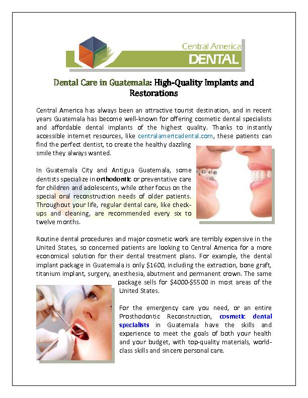 Cosmetic Dental Specialist