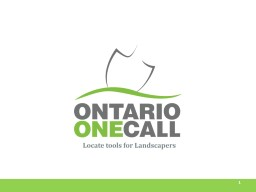 1 Locate tools for Landscapers PowerPoint PPT Presentation