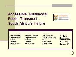Accessible Multimodal