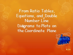 From Ratio Tables, Equations, and Double Number Line Diagra