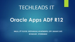 TECHLEADS IT PowerPoint PPT Presentation