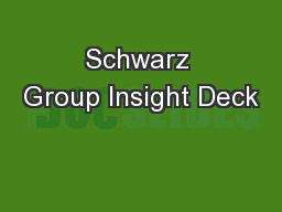 Schwarz Group Insight Deck