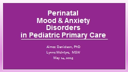 Perinatal PowerPoint PPT Presentation