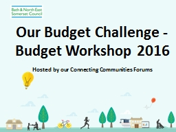 Our Budget Challenge - PowerPoint PPT Presentation