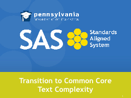 Transition to Common Core