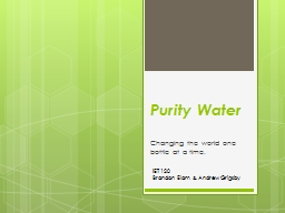 Purity Water