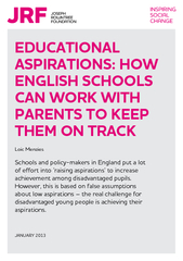 EDUCATIONAL ASPIRATIONS HOW ENGLISH SCHOOLS CAN WORK W
