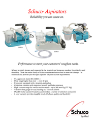 Schuco aspirators reliability you can count on