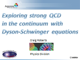 Exploring strong QCD PowerPoint PPT Presentation