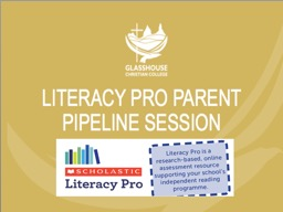 LITERACY PRO Reading Program