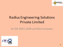 Radius Engineering Solutions Private Limited PowerPoint PPT Presentation