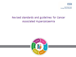 Revised standards and guidelines for Cancer Associated